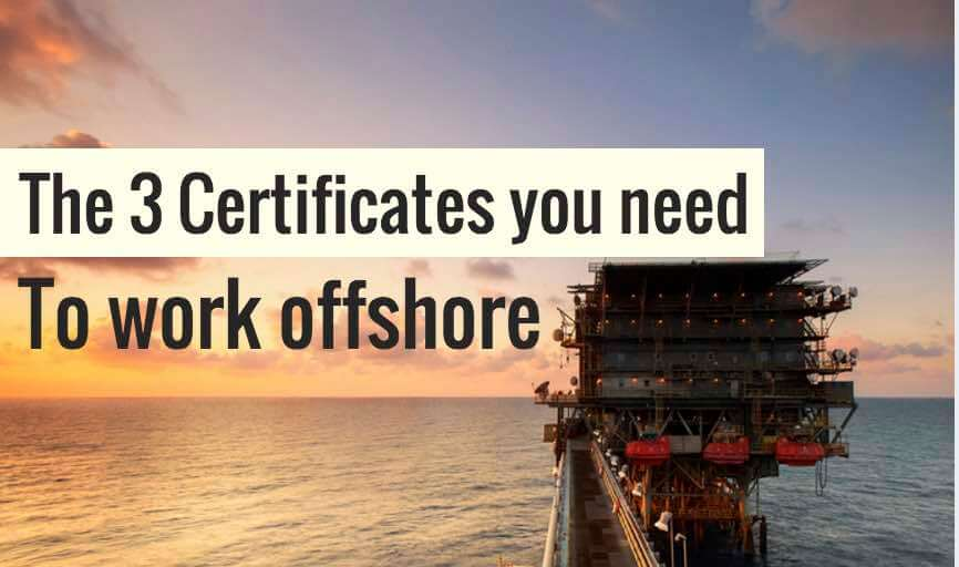 Offshore Survival Training Courses for OIl gas career