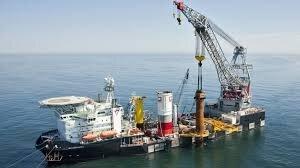 offshore construction crane