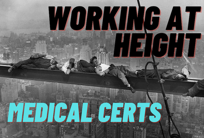 Working at Height Medical Aberdeen