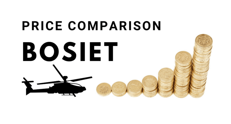 bosiet course cost helicopter training