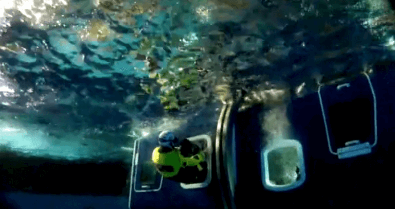 bosiet underwater escape from helicopter training