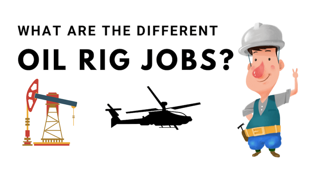 oil rig jobs worker helicopter