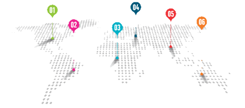 map of GWO training locations international