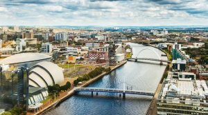 Glasgow offshore medical city view